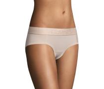 Panty, Jersey, tonales Logo, Gummibund, unifarben
