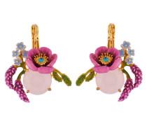 """Ohrhänger """"Pink Flowers"""" AISF108D/1, vergoldet"""