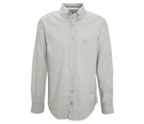 Freizeithemd, uni, Button-Down-Kragen, Brusttasche