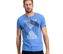 T-Shirt, Baumwolle, Rundhalsausschnitt