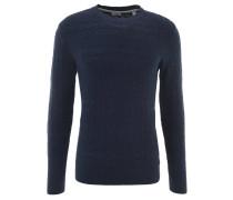 Pullover, Strickmuster, uni, Baumwolle