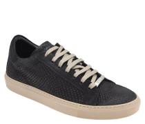 Sneaker, Leder, Schuppen-Optik, Schnürung