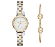 Set Damenuhr und Armband NY2678