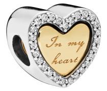 "Charm ""In my heart"" 767606CZ"