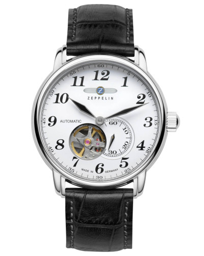 Herrenuhr 7666-1, Automatik Open Heart