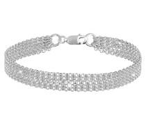 Armband 5-lagig Basic Ketten 925
