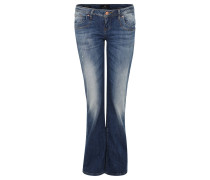 "Jeans ""Valerie"", Boot Cut, authentische Waschung"