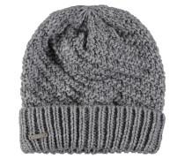 Mütze, Strick, Umschlag, Woll-Anteil