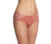 Panty, Spitzen-Details, Schleife, leicht transparent