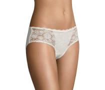 """Panty """"Gilroy"""", florale Spitze, Bordüre, transparent"""