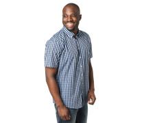 Hemd, Regular Fit, Button-Down-Kragen, Karo, Brusttasche
