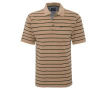 Poloshirt, Brusttasche, gestreift
