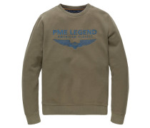 Sweatshirt, Slim Fit, Rundhalsausschnitt
