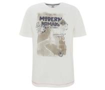 T-Shirt, Baumwolle, Front-Print