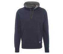 Sweatshirt, Wickelkragen, Kängurutasche