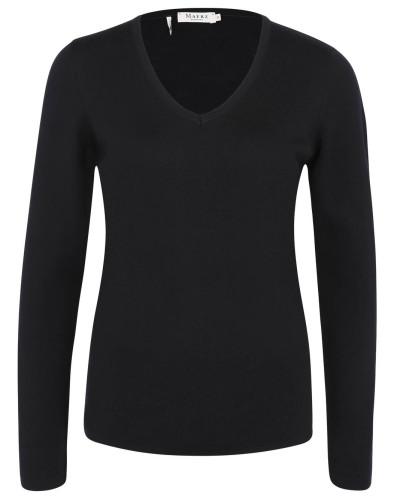 Pullover, Wolle, Feinstrick, V-Ausschnitt