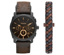 Machine Mens Casual Uhren-Set FS5251SET, 2-teilig