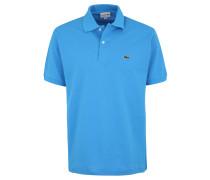 Poloshirt, Classic Fit, Piqué, Logo-Stickerei, unifarben