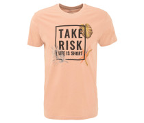 T-Shirt, Front-Print, Rundhals