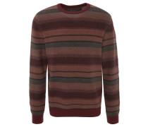 Pullover, reine Baumwolle, strukturiert, Streifen