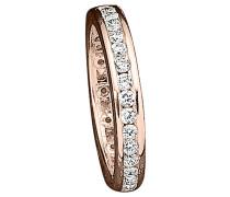 Ring Silber rosevergoldet mit Zirkonia