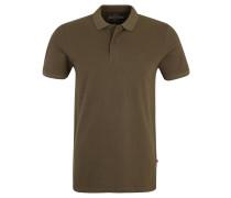 Poloshirt, Slim Fit, Piqué, unifarben