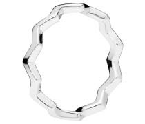 "Ring  ""Timeless Zigzag"", stapelbar 197752-52"