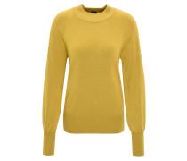 Pullover, Feinstrick, Stehkragen, Ärmel-Bündchen