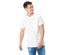 T-Shirt, Flammgarn, Aufnäher