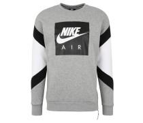 """Sweatshirt """"Air"""", seitlicher Reißverschluss, Logo-Print"""