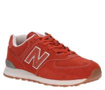 """Sneaker """"ML574"""", Veloursleder, Perforierung, Einstieg gepolstert"""