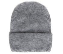 Mütze, Umschlagbund, Alpaka-Anteil, Woll-Anteil