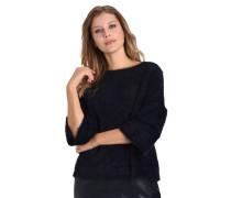 Pullover, Strick, Volantärmel