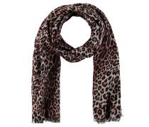 Schal, Leoparden-Muster, Wende-Design