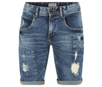 "Jeans-Shorts ""Dogtown"", Destroyed Look, Umschlag-Saum"