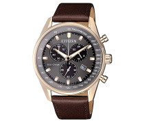 "Herrenuhr ""Eco Drive"" AT2393-17H Chronograph"