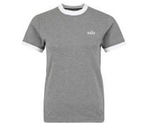 """T-Shirt """"Ringer"""", Baumwoll-Mix, meliert"""