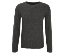 Pullover, Strick-Optik, schmaler Saum