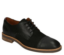 "Business-Schnürer ""Dessy Brogue Shoe"", Leder, Lyralochung"