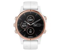 """Smartwatch """"fenix 5S Plus Sapphire"""" 010-01987-07"""
