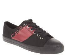 Sneaker, Logo-Print, Nylon, Schnürung