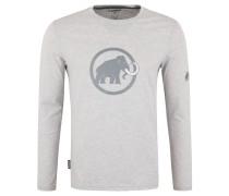 Langarmshirt, Logo-Print, Stickerei, Baumwolle, Jersey