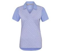 Poloshirt, UV-Schutz UPF 50+, Wickel-Optik
