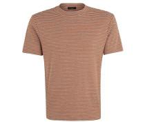"""T-Shirt """"Martin Ginger"""", gestreift, meliert, Baumwolle"""
