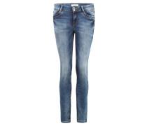 "Jeans ""Jona"", Slim Fit, Doppelknopf, Waschung"