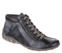 Sneaker, Reißverschluss, Mesh-Details