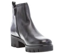 Ankle Boots, Elastik-Einsätze, robuste Sohle, Reißverschluss
