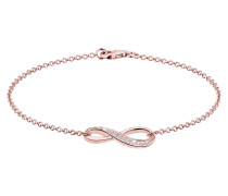 Armband Infinity Symbol Zirkonia 925 Sterling Silber