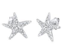 Ohrringe Seestern Maritim Meer Swarovski® Kristalle