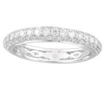 Ring gold 585 mit 108 Diamanten, zus. ca. 1,00 ct